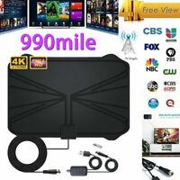 990 Mile Range Antenna TV Digital HD HDTV 1080P 4K Antena Clear Indoor Digital
