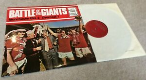 1977 FA Cup Final Battle of Giants Vinyl Record QP 23/77 in un-played condition