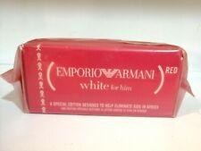 Emporio Armani White red for Him 1.7oz / 50ml Eau de Toilette discontinued HTF