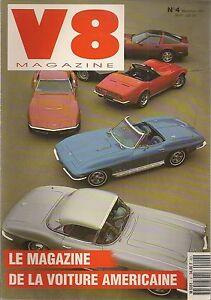 V8 MAGAZINE 4 CHEVROLET CORVETTE 1954 1961 1966 1968 1971 1979 1990 BEL AIR 1954