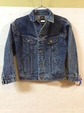 NWT Lee Riders Denim Jean Jacket Acid Glacier Wash sz Medium