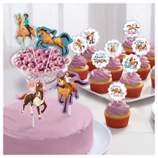 Dreamworks Spirit Riding Free Cake Toppers (12 pack)