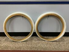 Old School NOS HWA Fong Tires 86 87 88 GT Pro Performer Haro Freestyle BMX Hutch