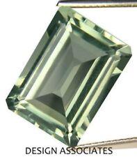 GREEN AMETHYST 12 x 10 MM EMERALD CUT AAA ALL NATURAL