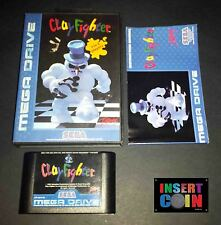 JUEGO SEGA MEGA DRIVE CLAY FIGHTER (PAL)
