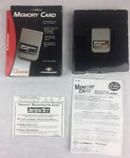 PlayStation Performance Memory Card In Box