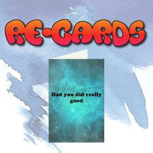 Re-Cards ~ FATHER'S DAY Greeting Card / Funny Adult Humor / Dirty