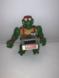 1993 TMNT Figure Plus!!Pop Up Pizza Set Ninja Turtles Antonio's Pizza Rama 2012