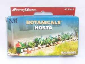 HO Hosta Botanicals Model Scenery Plants - Walthers SceneMaster #433-1075