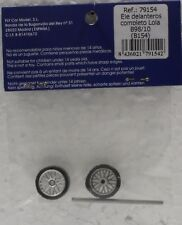 FLY 79154 LOLA B98/10 FRONT AXLE SET NEW 1/32 SLOT CAR PART