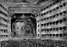 BR6730 Milano Interno Teatro alla Scala   acquerello di Matania postcard italy