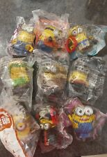 Mcdonald's Minions 2015 China Set Sealed And New 9 figures