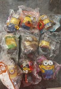Mcdonald's Minions 2015 China Set Sealed And New 9 figures
