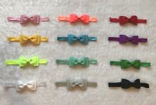 12 Pcs Kids Girl Baby Toddler Bow Headband Hair Accessories Headwear Multicolor
