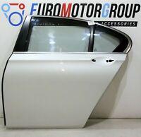 BMW Porta Posteriore Sinistro Drive Finestra Bianco Minerale Metallico (A96) 7er