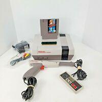 Nintendo Nes Console System with Original Refurb 72 Pin Super Mario/Duck Hunt