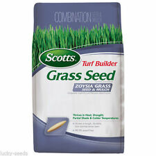 Scotts Zoysia Grass Seed and Mulch - 5 Lbs.