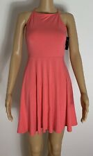 Brand New With Tags Pink Hollister Skater Dress Uk Size Small