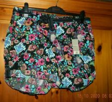 LADIES COLOURFUL SHORTS - SIZE 16 - GEORGE - NEW WITH TAGS