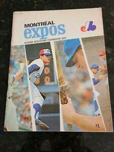 1970 Montreal Expos Yearbook  Vol.2 / No.1 Rusty Staub