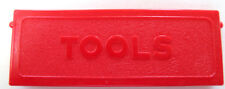 Replacement plastic tool box cover for  Wyandotte toy tow truck
