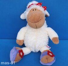 NICI Pecora Fiore Schlenker Sheep jolly sue 38 cm Peluche Beanie