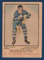 HOGH BOLTON RC 51-52 PARKHURST 1951-52 NO 79 GOOD+ 23447