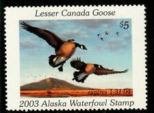 Alaska 2003 State Waterfowl Hunting Permit Stamp Lesser Canada Goose #19