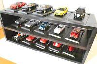 Présentoir Vitrine Véhicules-jouets voiture Échelle 1:43 Model Miniatures Modèe
