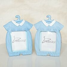 2 Blue Baby Shower Thanks For Hanging with Us Picture Frames Cute Baby Favors