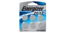 Energizer 2032BP-6 Coin Cell Battery 6 Pack Exp.03/2030