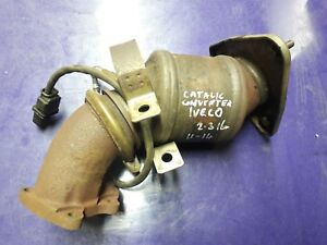 IVECO DAILY GENUINE  CATALYCTIC CONVERTER WITH SENSOR. 2011-2014 P/N 5801352155