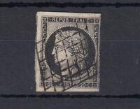 France 1850 20c Ceres Imperf Good Margins SG9 Used J4454