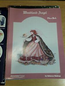 Woodland Angel Serendipity Designs Cross Stitch Chart Heaven Rebecca Waldrop
