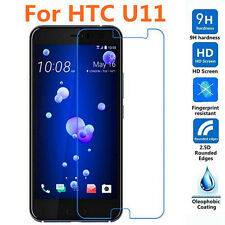9h Premium Tempered Glass Screen Protector for HTC U11 Cover Entire Flat Screen