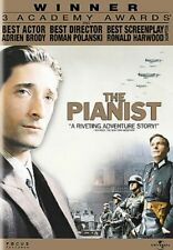 The Pianist (DVD, 2006, Single Sided Version Widescreen)