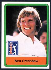 BEN CRENSHAW~HOF GOLFER~MINT 1981 DONRUSS PGA GOLF TOUR SHARP ROOKIE RC CARD #5