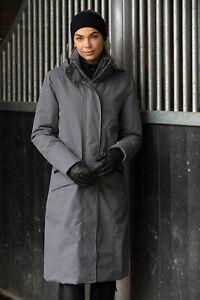 Equetech Venture Elite Long Waterproof Coat - Zip Back - Concealed Hood *NEW*