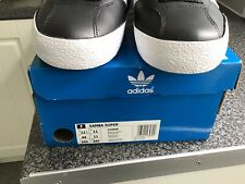 Adidas Samba Super Mens Shoes Trainers Uk Size 11  Black Leather. New Condition
