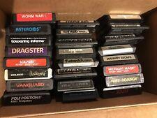 Lot of 24 Atari 2600 Games