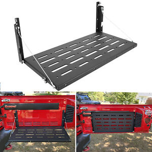 Tailgate Table Foldable Cargo Shelf for Jeep Wrangler JK JKU 2007-2018(2&4 Door)
