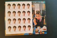 Audley Hepburn Stamp Sheet; Legends Of Hollywood; 2003 Scott# 3786; 20-37c