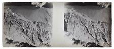 Montagne Guerre 14-18 Balkans Photo F1 Plaque de verre Stereo Negative