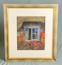 Malcolm Surridge Large Pastel Drawing Study Signed