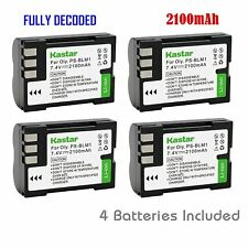 Kastar PS-BLM1 Battery for Olympus C-5060 C-7070 C-8080 E-1 E-3 E-30 E-520