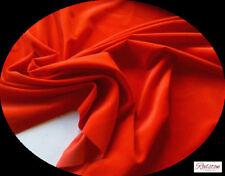 Tessuti e stoffe rossi velluti per hobby creativi al metro