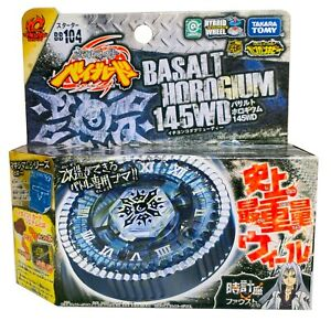 TAKARA TOMY Basalt Horogium / Twisted Tempo 145WD BB-104 Beyblade - USA SELLER