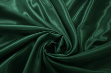 VERDE BOTTIGLIA satinato in raso abito / Abiti da Sposa / Abito da sera ballo Craft tessuto materiale