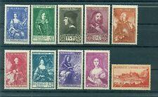 Monaco 1939 - Y & T  n. 185/94 - Princes, princesses et vues de Monaco