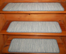 "17 Step 9"" x 30'' + 2 Landing 28'' x 36'' / 30'' Tufted carpet Wool Stair Treads"
